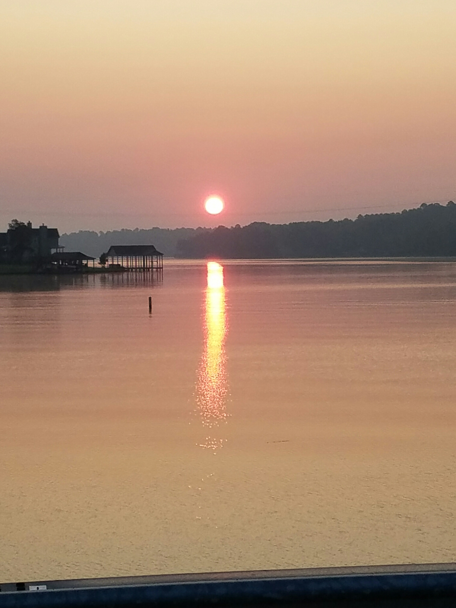 Sunset at Lake Cypress Springs